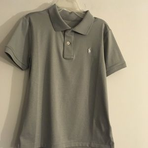 NEW Ralph Lauren Polo Performance Polo GRY Boys  8